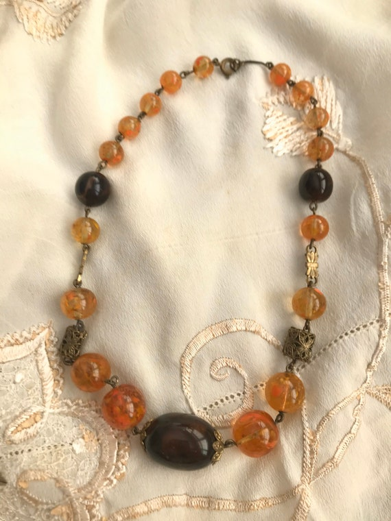 1930s Murano Glass Necklace