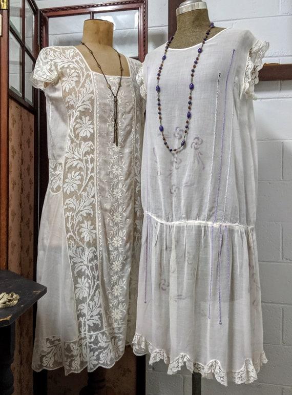 1920s Lawn Dress