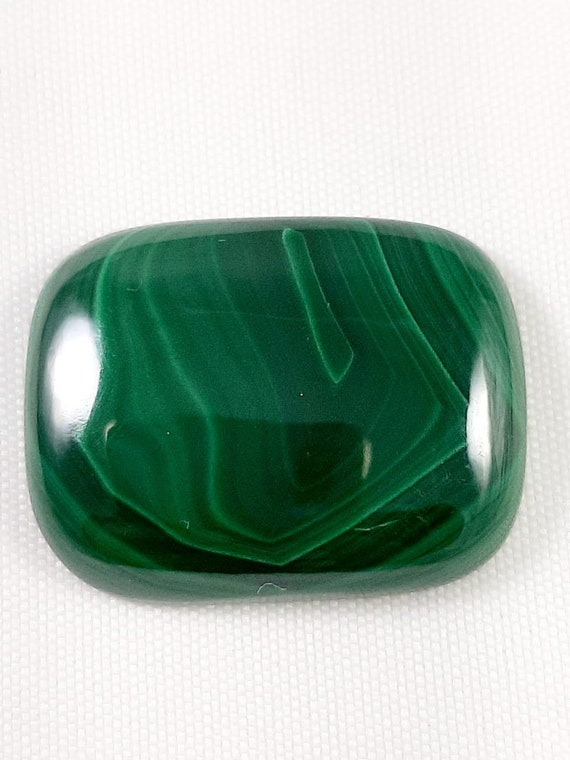 Natural Malachite Cabochon  Gemstone