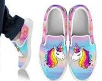 vans unicorno donna