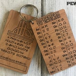 Engraved Aurebesh to English Translator - Perfect for Batuu at Star Wars Galaxy's Edge