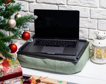 Computer Lap Desk Pillow Wood Top Desk