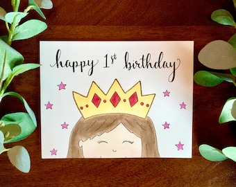 Prince Birthday Card