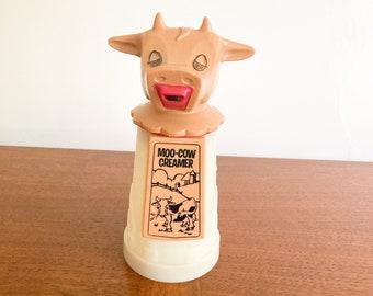 "Whirley Industries ""Moo Cow"" Creamer, Vintage 1970's Creamer, Vintage Coffee Accessories"