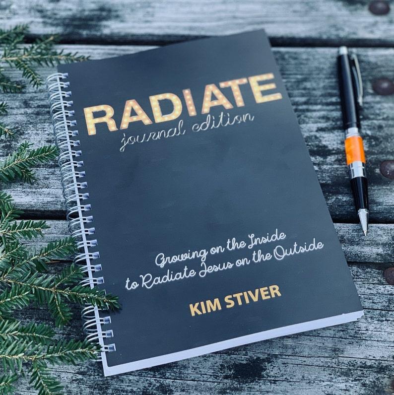RADIATE Devotional Journal Devotional Bible Study Prayer image 0
