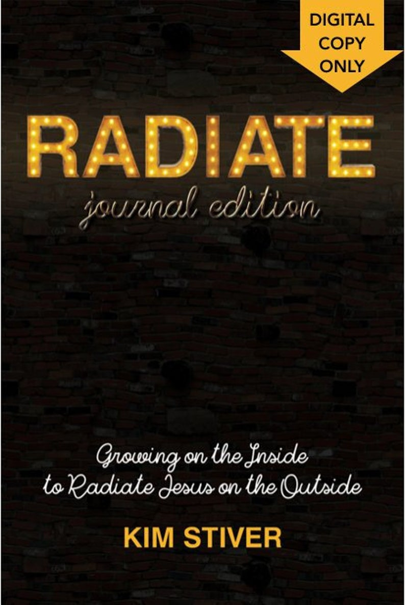 RADIATE  Journal Version Digital Download ebook Devotional image 0