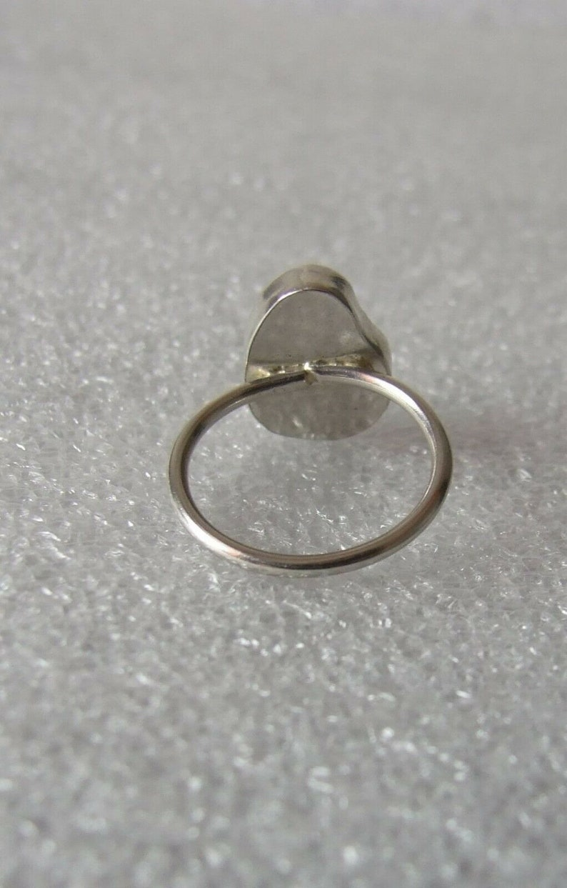 100/% Recycled Ecosilver Sterling Silver Handmade Lemon Yellow Cornish Sea Glass Ring UK Size L Small in Gift Box