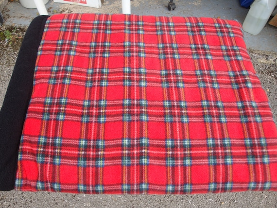 Red Tartan Snoozy For All Animals In All Sizes