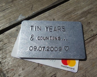 10th Anniversary Gift Etsy