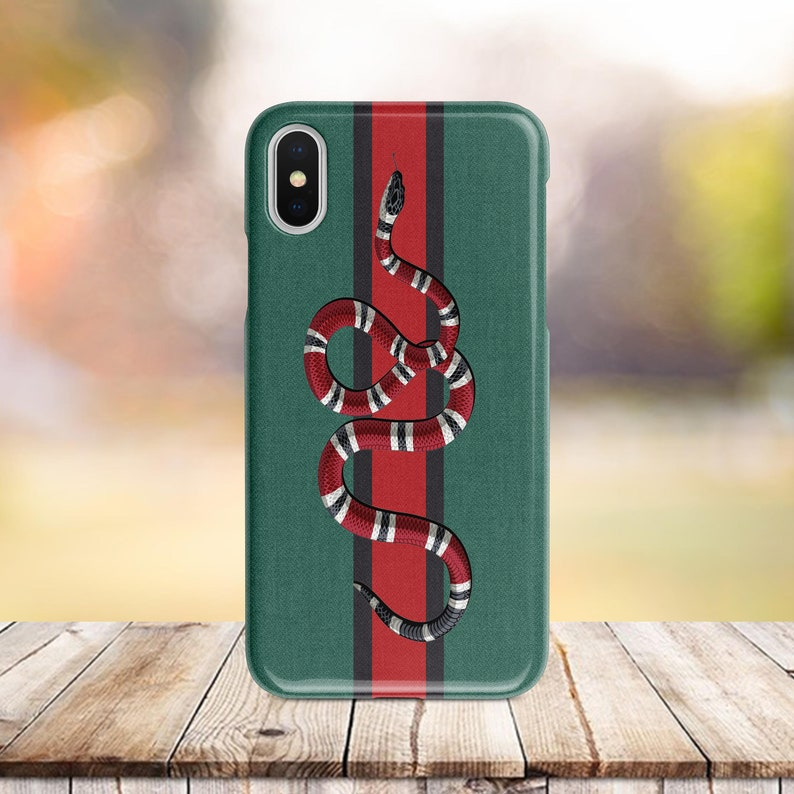 Inspired by Gucci snake iPhone XS Snake phone Case iPhone 8 Plus Samsung  Note 9 iPhone 6s iPhone 7 Plus iPhone 7 iPhone Xr Case iPhone Max