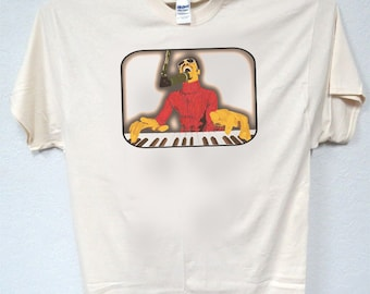 """STEVIE WONDER,Inspired  Drawing, Cool Ivory  """"Classic"""" Vintage look!, ! All Sizes Men's T-Shirt,T-1617Ivy L@@K!"""