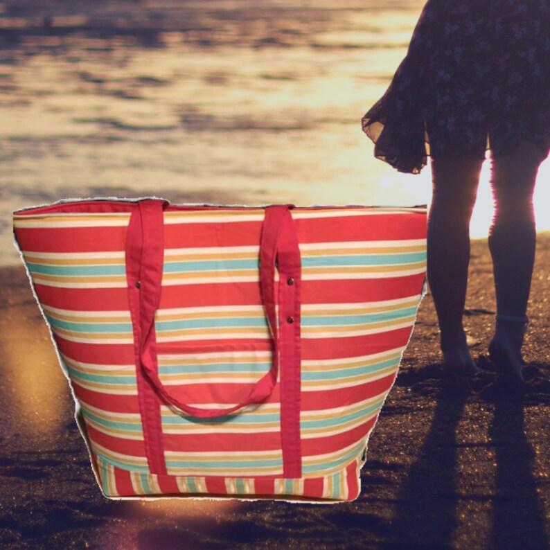 Handbag Tote Bag Tote Shoulder Bag Beach Summer Vacation Purse Picnic Pool Bag