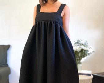 Oversize dress L'ÉTOILE black winter