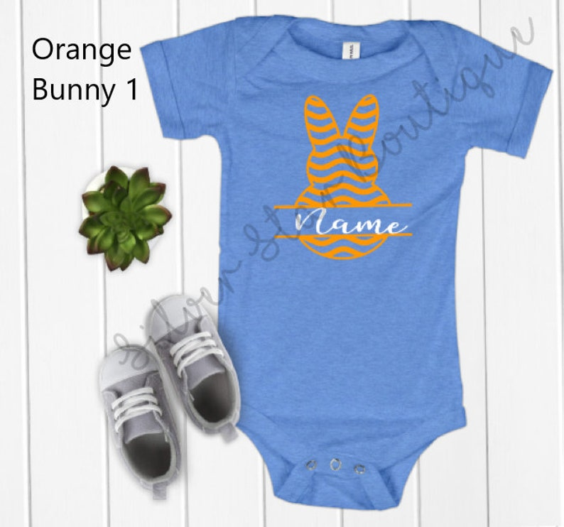 Personalized Easter Bodysuit