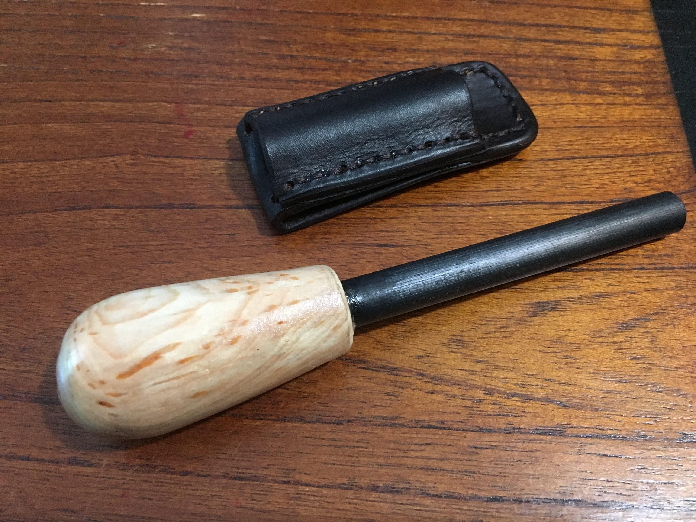 Custom Handmade Wooden Handle Ferro Rods