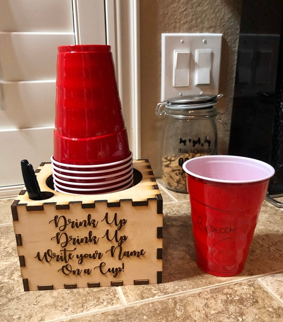 Solo Cup Holder Etsy