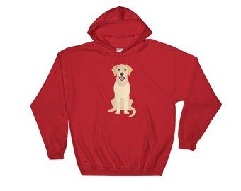 019f377d9b Good Boy Golden Retriever Dog Hooded Sweatshirt
