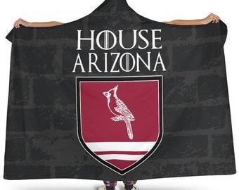 ad30ecdc284a House Arizona Football Unofficial Hoodie Blanket Arizona Cardinals Snuggie  Blankets