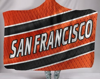 31c24e38b37 San Francisco 49ers Fan Unofficial Hoodie Blanket Jersey  Seattle MLB Baseball Gift Blanket Snuggie
