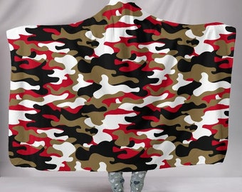 542f7dc8474 San Francisco 49ers Football Fan Camo Hoodie Blanket Unofficial New York  Jets Jets New York NFL Football Blankets Snuggie