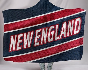 d5675d674 New England Patriots Fan Unofficial Hoodie Blanket/Jersey/Football/Gift/For  Her/For Him/Blanket/Snuggie