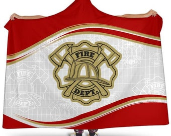 e6a0d022c77 San Francisco Football Fan Unofficial Hoodie Blanket Firefighter First  Responder Football NFL Gifts For Her For Him Blanket Blankets