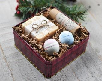 Natural Custom Spa Gift Set_ Soap Gift, Relaxation Gift Box, Valentine Gift, For Her, Gift for Mom, Spa Bath Set, Birthday Gift Box, Spa Kit