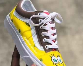 new arrival b727a 640f1 Spongebob x Patrick vans