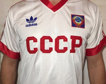 76ae2bda2e9 Soccer Jersey -Vintage USSR ,Football Jersey ,S size ,Soviet Union National  Team ,Jersey Football,Gift for Him