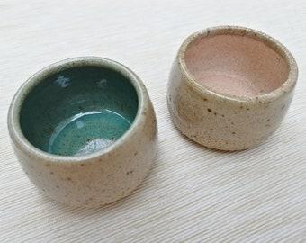 3 oz Handmade Ceramic Cup, Espresso Cup, Ceramic Beaker, Ceramic Espresso Cup, Tiny Sauce Bowl