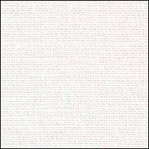 Linen Glitter 18 Count Zweigart Aida cross stitch fabric various size options