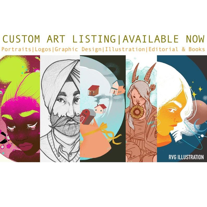 Custom Art  graphic design logo design illustration & image 0