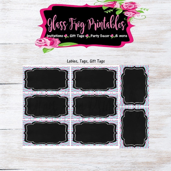 image relating to Chalkboard Labels Printable named Crimson Pink Chalkboard Label, Chalkboard Label, Printable Chalkboard Label, Printable label, Editable Label, Present Tags, Want Tags
