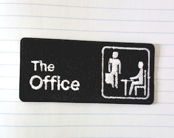 3 Inch Dunder Mifflin Patch The Office Badge Paper Company Costume Uniform NEW