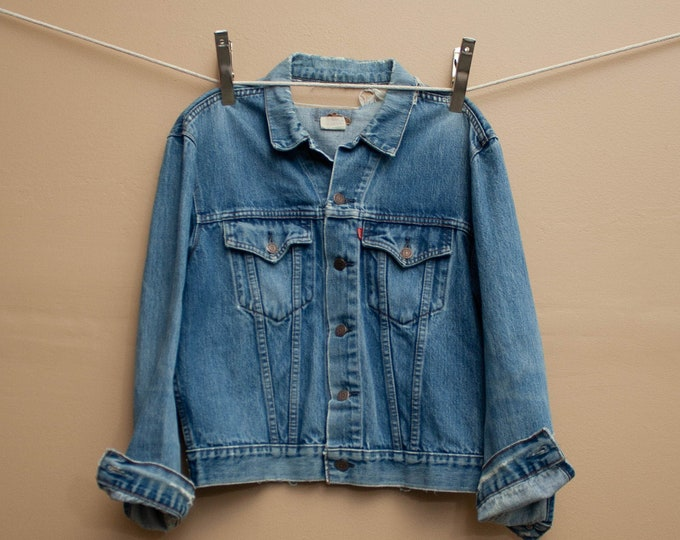 1970's Super Distressed Levi's Denim Jacket