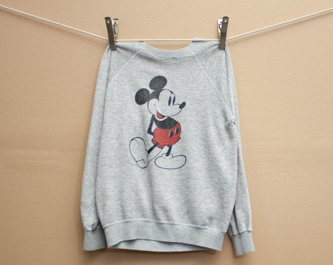 1970's Super Thin Mickey Mouse Sweatshirt