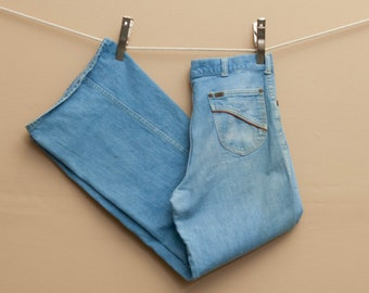 1970's Rare Lee Denim Flares