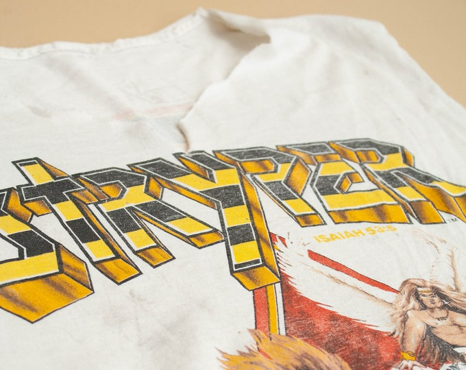 1987 Stryper To Hell With The Devil Distressed Tee