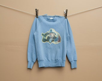 1980's Kenny Rogers Iron-On Crewneck Sweatshirt