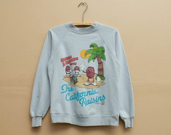 1987 California Raisins Crewneck Sweatshirt