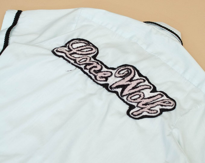 1970's Bowling Shirt with Lone Wold Back Patch