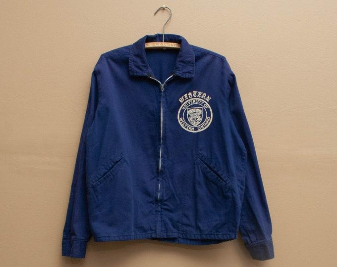 1960's University of Western Ontario Cotton Bomber Jacket