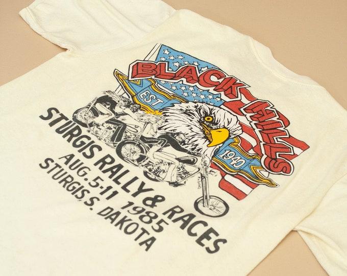 1985 Rare Sturgis Black Hills Rally Tee