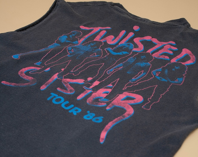 1985 Twisted Sister Come Out and Play Original Tour Tee
