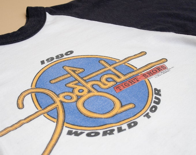 1980 Foghat Tight Shoes Offical Tour Tee
