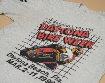 1990 Daytona Bike Week Single Stitch T-Shirt
