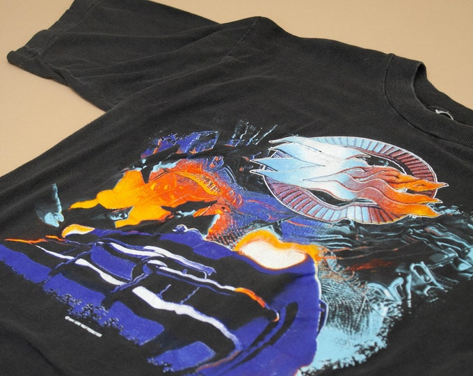 1991 ZZ Top Recycler World Tour Tee