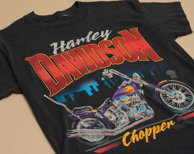1988 Harley Davidson Chopper Single Stitch T-Shirt
