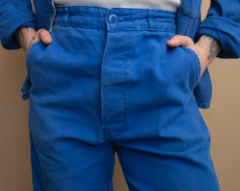 1980's French Workwear Pants