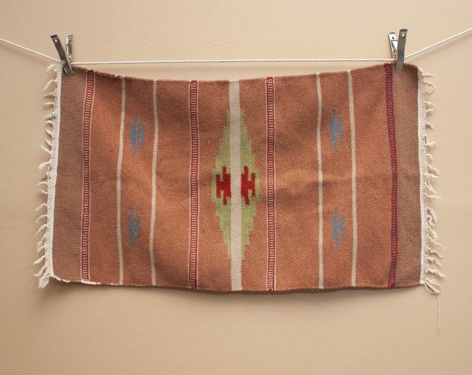 1950's Chimayo Wool Rug